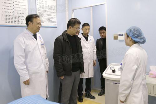 中国核工业416医院专家组莅临我院参观交流,强化科研合作,提升专家型医院诊疗实力